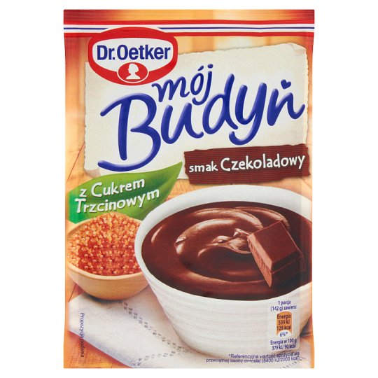 Dr. Oetker Mój budyń z cukrem trzcinowym smak czekoladowy 70 g