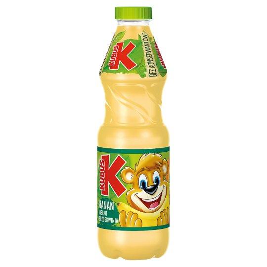Kubuś Banana Apple and Peach Juice 900 ml