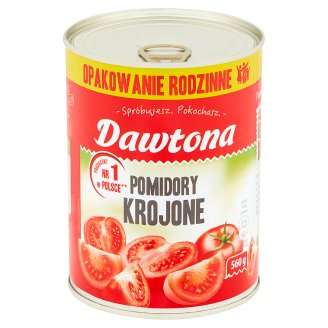 Dawtona Chopped Tomatoes 560 g