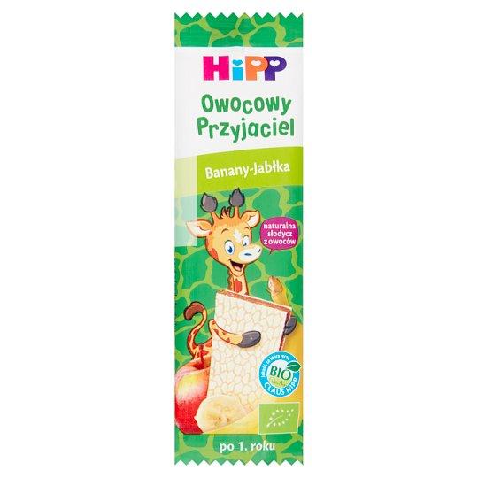 HiPP BIO Owocowy Przyjaciel Banany-Jabłka Owocowy batonik BIO dla małych dzieci po 1. roku 23 g