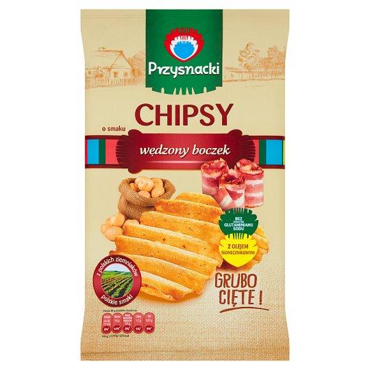 Przysnacki Chipsy o smaku wędzony boczek 135 g