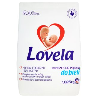 Lovela White Hypoallergenic Washing Powder 1.625 kg (13 Washes)