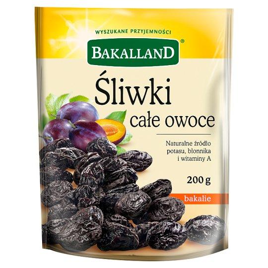 Bakalland Śliwki całe owoce 200 g