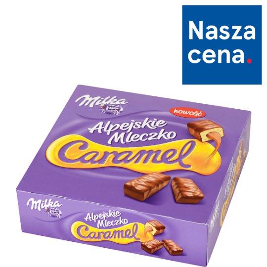 Milka Alpejskie Mleczko Caramel Vanilla Flavour Marshmallows 350 g