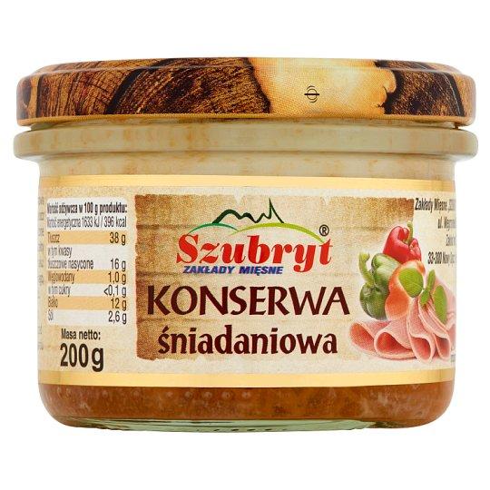 Szubryt Canned Breakfast Meat 200 g
