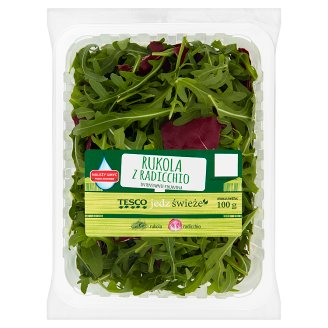 Tesco Rucola with Radicchio 100 g