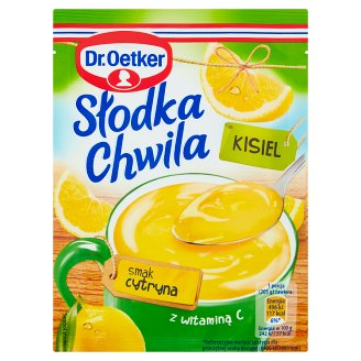 Dr. Oetker Słodka Chwila Lemon Flavoured Instant Jelly 30 g