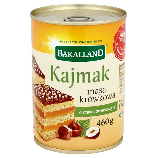 Bakalland Kaymak Caramel Fudge Cream Peanut Flavoured 460 g