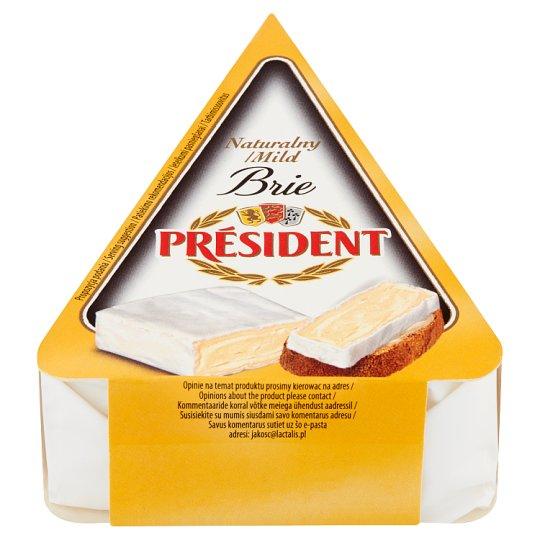 Président Brie naturalny Ser pełnotłusty 125 g