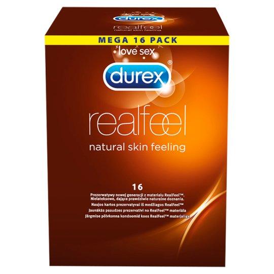 Durex Real Feel Prezerwatywy 16 sztuk