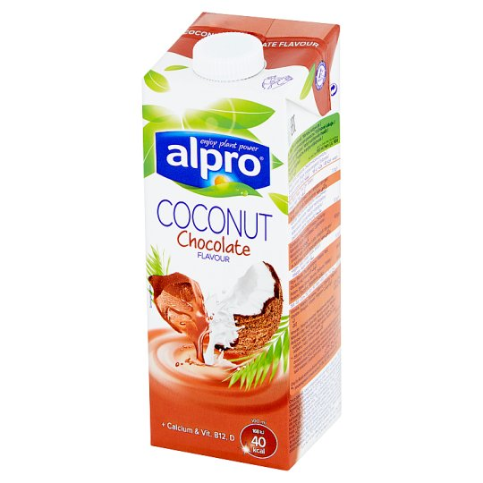 Alpro Chocolate Flavoured Coconut Drink 1 L