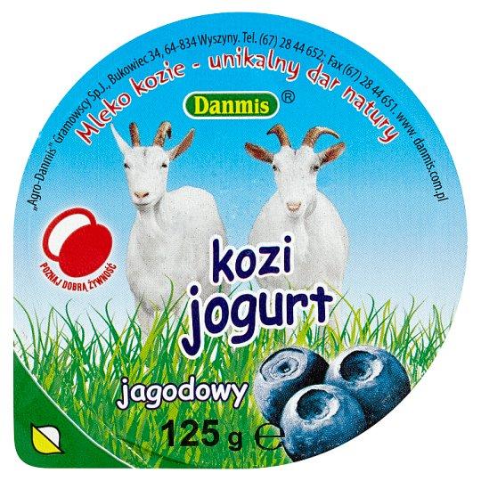 Danmis Blueberry Goat Yoghurt 125 g