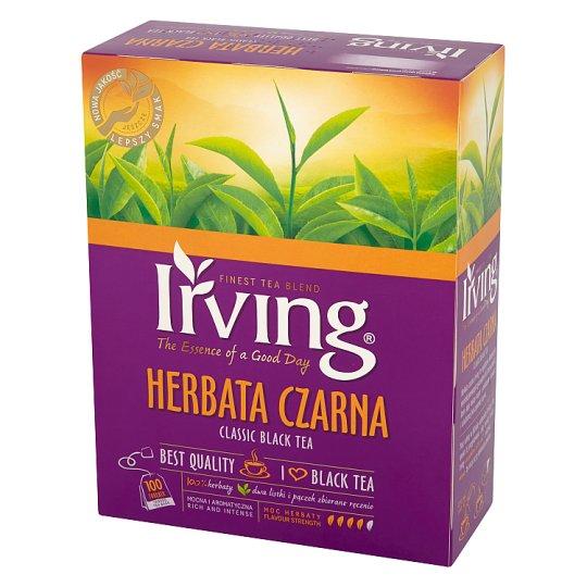 Irving Herbata czarna 200 g (100 torebek)