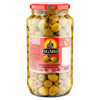 Figaro Pitted Spanish Green Olives 920 g