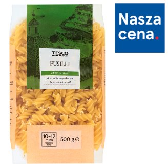 Tesco Fusilli Makaron bezjajeczny 500 g
