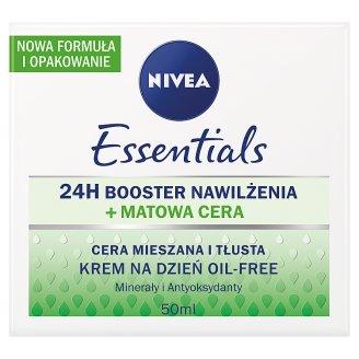 NIVEA Essentials Krem na dzień oil-free cera mieszana i tłusta 50 ml