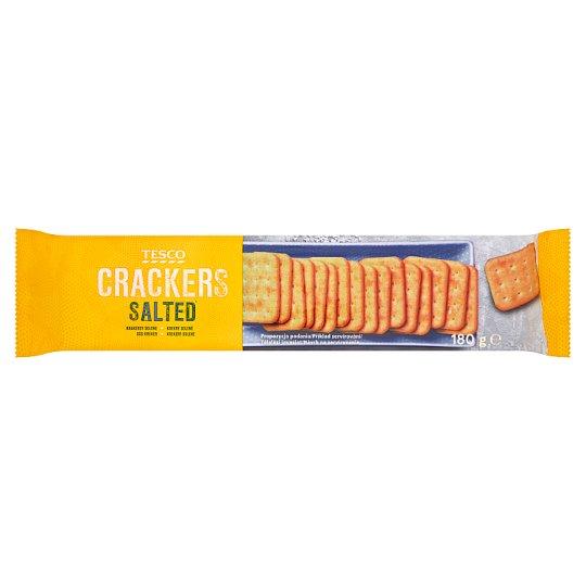 Tesco Salted Crackers 180 g