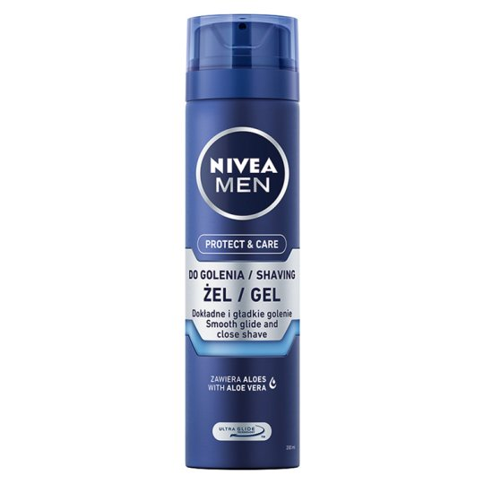 NIVEA MEN Protect & Care Extra Moisture Shaving Gel 200 g