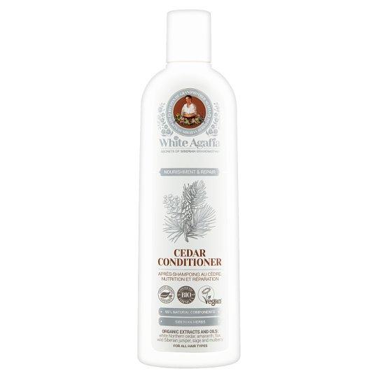 White Agafia Nourishment & Repair Odżywka cedrowa 280 ml
