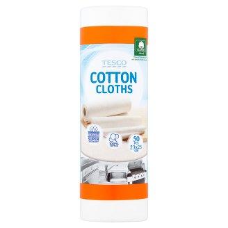 Tesco Ręczniki kuchenne bawełniane50 Pieces