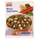 Tesco Value Mieszanka warzyw Marchew zielony groszek różyczki kalafiora i brokułów 450 g