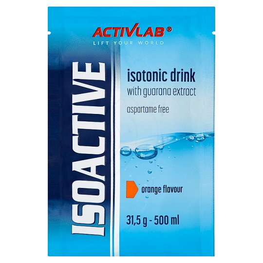 Activlab Isoactive Orange Flavour Instant Isotonic Drink Concentrate 31.5 g
