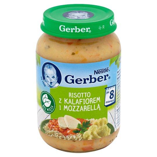 Gerber Risotto z kalafiorem i mozzarellą po 8 miesiącu 190 g