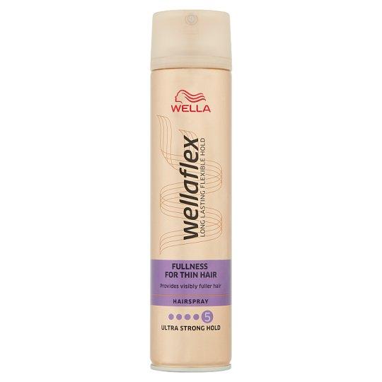 Wella Wellaflex Fullness for Thin Hair Lakier do włosów 250 ml