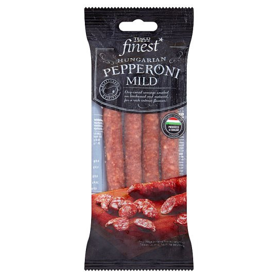 Tesco Finest Mild Hungarian Pepperoni 100 g