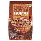 Tesco Crunchy Cluster Muesli with Chocolate 750 g