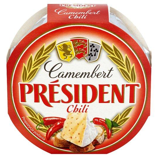 Président Chili Camembert Cheese 120 g