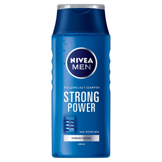 NIVEA MEN Strong Power Strengthening Shampoo Normal Hair 400 ml