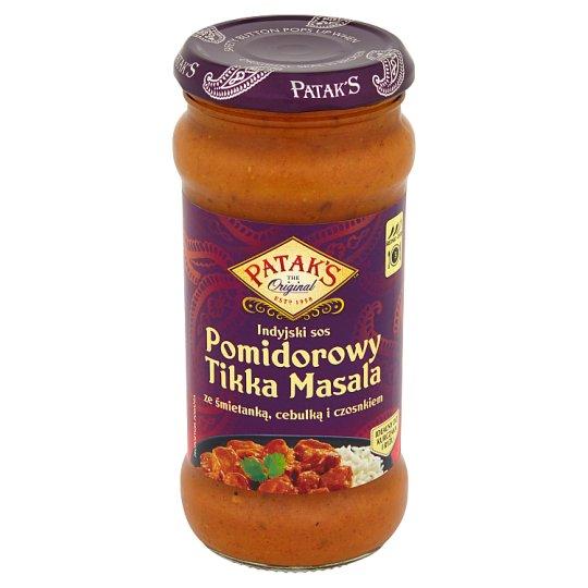 Patak's Tomato Indian Sauce Tikka Masala with Cream Onion and Garlic 350 g