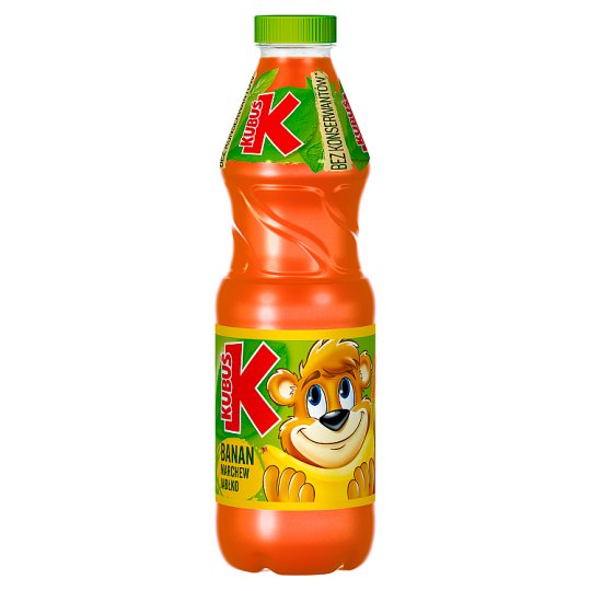Kubuś Banana Carrot Apple Juice 900 ml