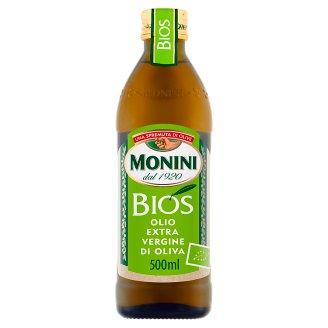 Monini Bios Oliwa z oliwek najwyższej jakości z pierwszego tłoczenia 500 ml