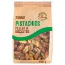 Tesco Peeled & Unsalted Pistachios 100 g