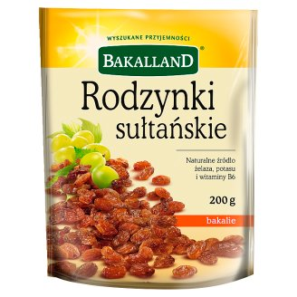 Bakalland Sultan Raisins 200 g
