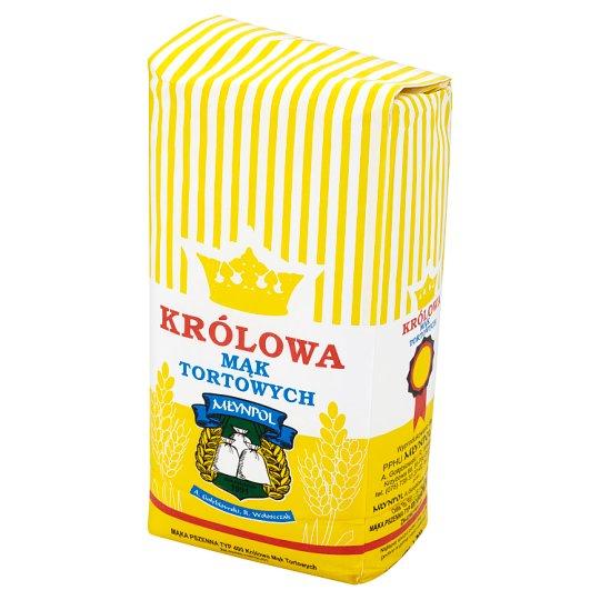 Młynpol Królowa mąk tortowych Mąka pszenna typ 400 1 kg