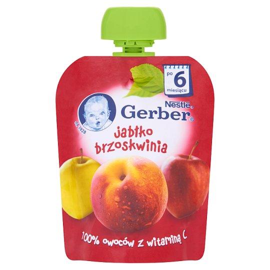Gerber Apple Peach after 6 Months Onwards Dessert 90 g