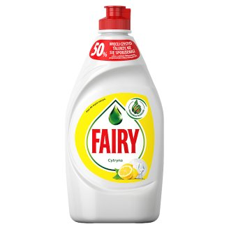 Fairy Washing Up Liquid Lemon 450 ml