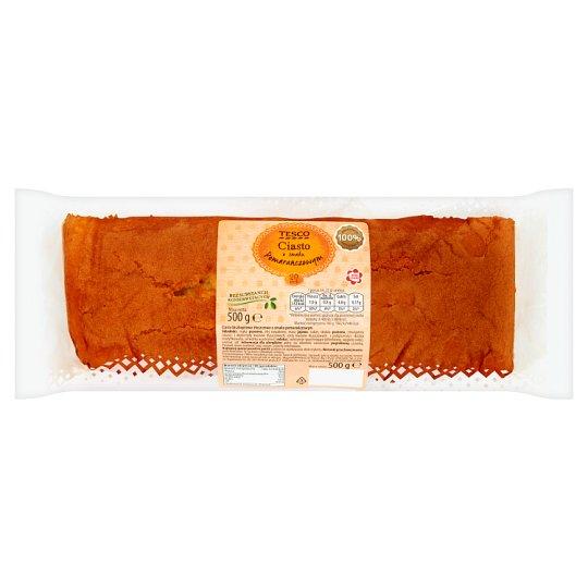 Tesco Ciasto o smaku pomarańczowym 500 g
