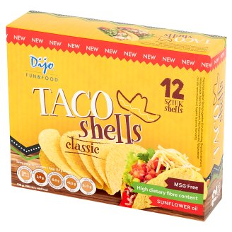 Dijo Classic Taco Shells 158.4 g (12 Pieces)