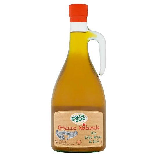 Goccia d'oro Oliwa z oliwek najwyższej jakości z pierwszego tłoczenia 1 l