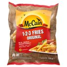 McCain 1.2.3 Fries Original Straight Cut Chips 750 g