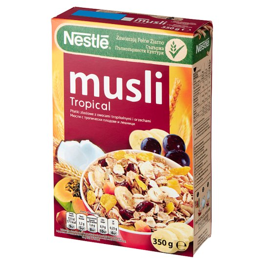 Nestlé Musli Tropical Cereals with Tropical Fruits and Nuts 350 g