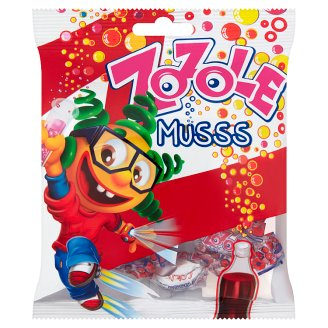Zozole Musss Cola Flavoured with Fizzy Filling Caramels 75 g