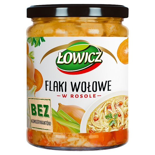 Łowicz Beef Tripe in Stock 500 g