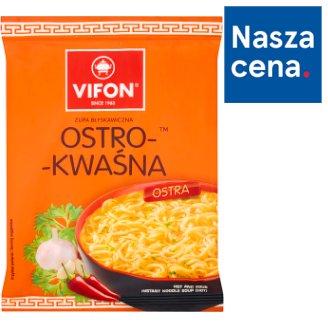 Vifon Ostro-kwaśna Zupa błyskawiczna 70 g