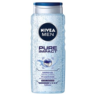 NIVEA MEN Pure Impact Shower Gel 500 ml