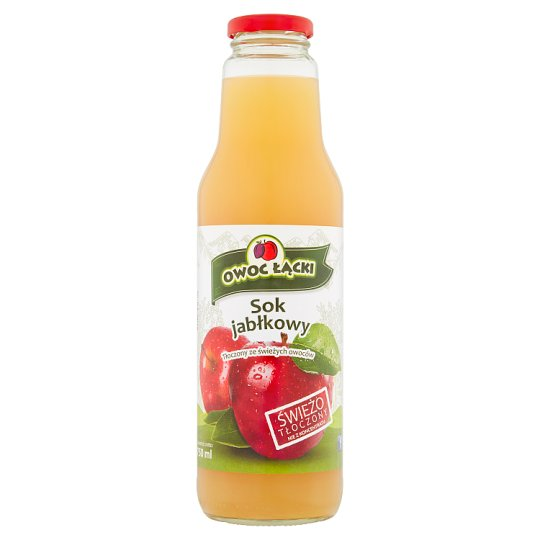 Owoc Łącki Apple Juice 750 ml